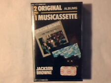 JACKSON BROWNE The pretender Late for the sky mc cassette k7 ITALY UNPLAYED!!!