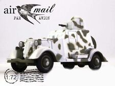 BA-20 Armored Car Soviet Union USSR WWII 1936 Year 1/72 Scale Diecast Model