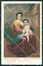 Roma Città Bartolomeo Murillo Madonna Bambin Gesù cartolina XB4183
