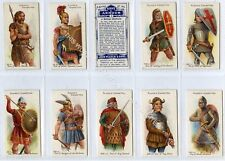 Full Set, Players, Arms & Armour, Blue Backs 1909 EX (Gb1835-408)