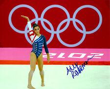 ALY RAISMAN SIGNED 8X10 PHOTO COA 2016 RIO OLYMPICS 2012 LONDON GOLD FIERCE 5