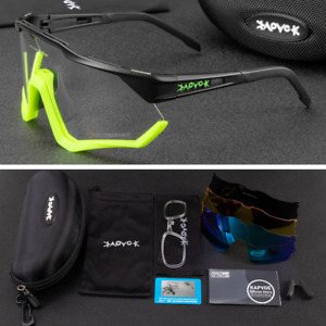 Polarized Sunglasses UV400 Photochromic Cycling Glasses Outdoor Sports Goggles