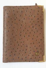 Cartera de piel marrón. Marca R. Brown leather wallet. Brand R