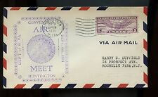 US Flight Event Cover 1931 Huntington, WVa Convention Air Meet