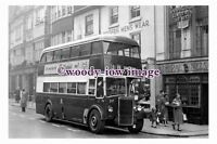 ab0085 - Leicester City Bus - DFJ 338 to Humberstone - photograph 6x4