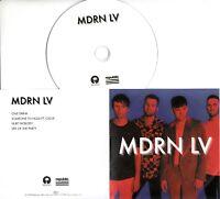 PICTURE THIS MDRN LV Album Sampler 2019 UK 4-trk numbered promo test CD