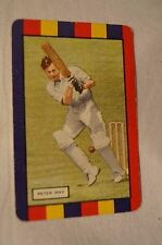 1953 - Vintage - Coles Cricket Card - English Cricketers - Peter May