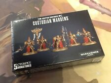 40K Warhammer Adeptus Custodes Custodian Wardens Sealed