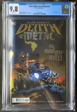 DARK NIGHTS: DEATH METAL #2 CGC 9.8 BEAUTIFUL FOIL COVER FIRST ROBIN KING INVEST