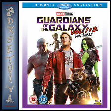 Guardians of The Galaxy Volumes 1 and 2 Blu-ray Region B (not Us)