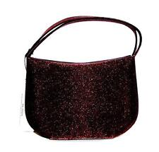 PURSE Satin Evening Bag Stylique Autumn SHIMMERY RUST BROWN