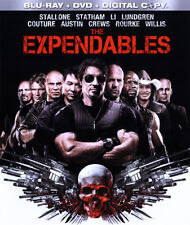 THE EXPENDABLES Blu-Ray + DVD Sylvester Stallone Bruce Willis