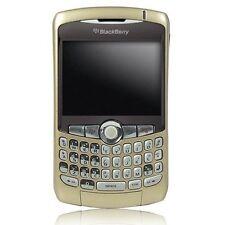 Completo Repuesto Carcasa Funda Para Blackberry 8300, 8310, 8320 Curve (dorada) NUEVO