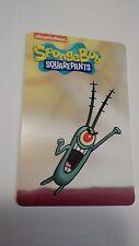 Sheldon J. Plankton Card from Spongebob Arcade Coin Pusher - No Barcode!