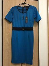 kardashian kollection Blue & Black Dress NWT Size Small No Longer Available