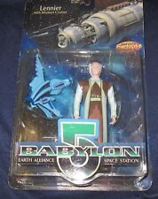Babylon 5 - Lennier - Action Figure w/Minbari Cruiser