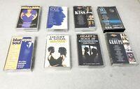 8 x Soul Cuts Audio Cassette Tape Albums, Heart & Soul, Soul Groups Soul Kiss