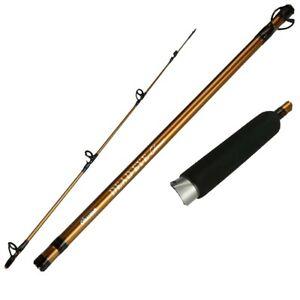 "Okuma DEC-C-762ML Deadeye Classic Series 7' 6"" Medium Light 2-Pc Walleye Rod"