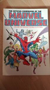 The official handbook Marvel Universe volume 6 1987