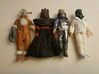 (lot of 4) 8 inch Doctor Who loose action figures USED free shipping