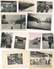 Nr.25509 11  x Foto 2.Weltkrieg  Deutsche Wehrmacht u.a.  Orden Gasmaske Reiter