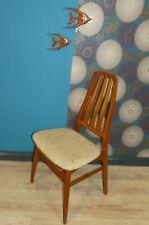 60er Stuhl Eßzimmerstuhl Danish design Teak DEN BLAA FABRIK tolle Lehne 1v.4
