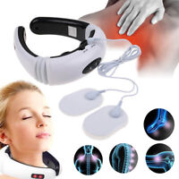 Electric Pulse Neck-Massager Magnetic Therapy-Vertebra Treatment for Pain-Relief