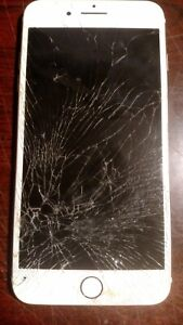 Apple iPhone 7 Plus Rose Gold Model a1661 Cracked