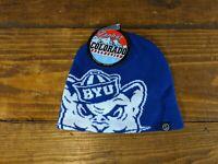 NCAA Team Apparel BYU Cougars Knit Beanie Hat Adult NWT