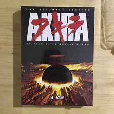 AKIRA di Katsuhiro Otomo (The Ultimate Edition) BOX 3DVD NEW SEALED Anime