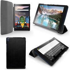 PU Cuero Funda Smart Cover para Lenovo Tab 3 8'' Plus TB-8703 Piel Carcasa Case