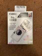 Brand New! Canon - Ivy Cliq + 2 Instant Film Camera - Iridescent White