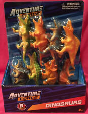 BRAND NEW Adventure Force Dinosaur Pack 8 Dinosaurs Sealed