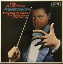 SXL 6287 WBg 1G Falla, El Amor Brujo, Frubeck de Burgos, NPO, Nati Mistral