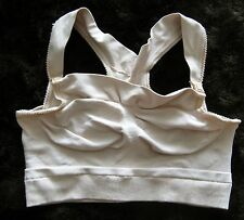 "Nursing maternity soft bra Nude racerback size M 23"" chest 9.25"" long wire free"