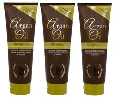 3 x Large 250ml Argan Oil Shampoo With Moroccan Argan Oil Extract