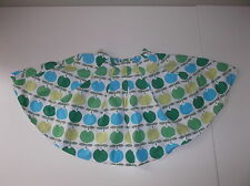 Mini Boden Girls 5 - 6 Fifties Skirt EUC 32144GRN Leaf Tulip Green