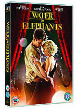 Water For Elephants (DVD, 2011)  Weese Witherspoon, Robert Pattinson & C Waltz