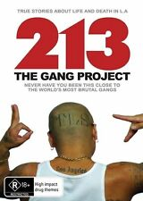 213 The Gang Project (DVD, 2013) Documentary on gangs [Region 4] NEW/SEALED
