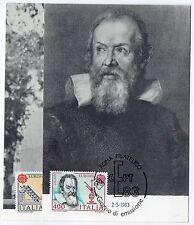 1983 REPUBBLICA SERIE CARTOLINE MAXIMUM FDC GENIO UMANO C/1817