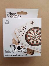 GIOCO alcolico bar bevande Mat Mats 30 diversi giochi di partito PUB BAR studente divertente