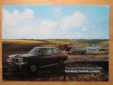 Toyota Corona 2000 Mark Ii Orig 1974 Uk Mkt Folleto