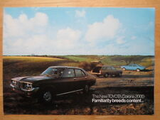 Toyota Corona 2000 Mark II Orig 1974 Reino Unido Mkt folleto de ventas