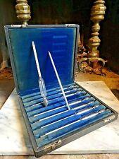 "New listing Vintage ""F L"" Hydrometer Specific Gravity Set w/Thermometer Light Heavy Liquids"