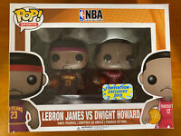 Funko - Lebron James vs Dwight Howard (Convention Exclusive) Excellent Condition