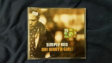 SIMPLY RED  - OH! WHAT A GIRL! CD SINGLE 3 TRACKS.