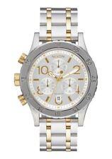 New Nixon Women's 38-20 Chronograph Watch Two Tone