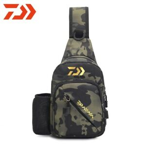 DAIWA Fishing Sling Pack Lure Sling Bag Shoulder Backpack Fishing Chest Bag