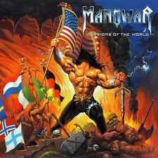 Manowar - Warriors Of The World Vinyl LP Heavy Metal Sticker, Magnet