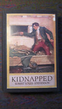 Kidnapped by R.L. Stevenson 1921 Harper & Brothers Hardcover  Illustrated Rhead